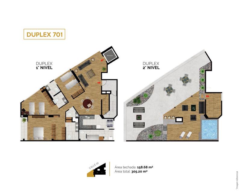 duplex701